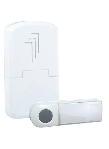 Smartwares DB401E Kablosuz Kapı Zili Seti Beyaz Kemer Klipsli Renkli